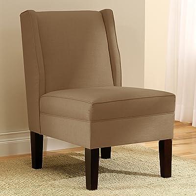 Amazon.com: Giantex Deco Solids Accent Chair Armless Living Room ...