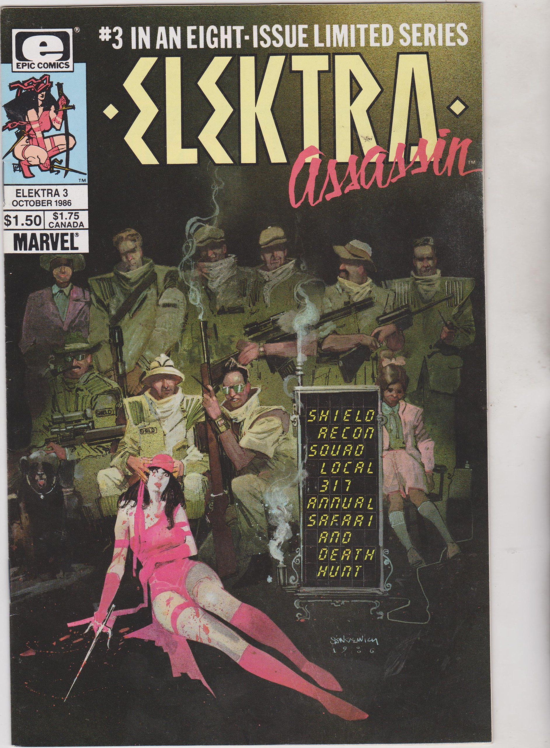 Paperback Book Free Shipping! Elektra Assassin by Frank Miller English