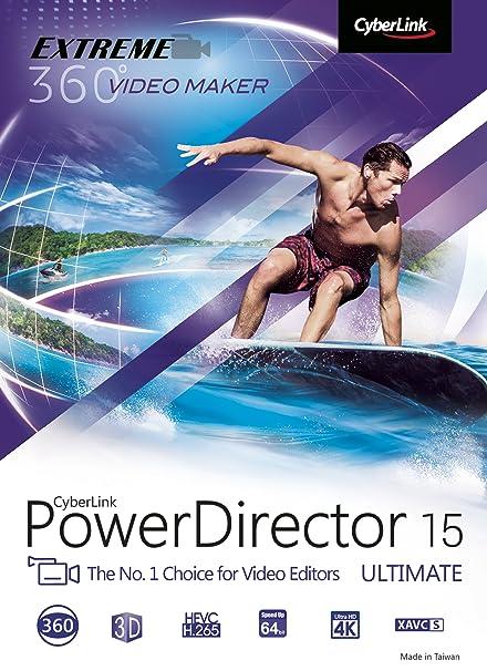 cyberlink powerdirector 15 free download full version with crack