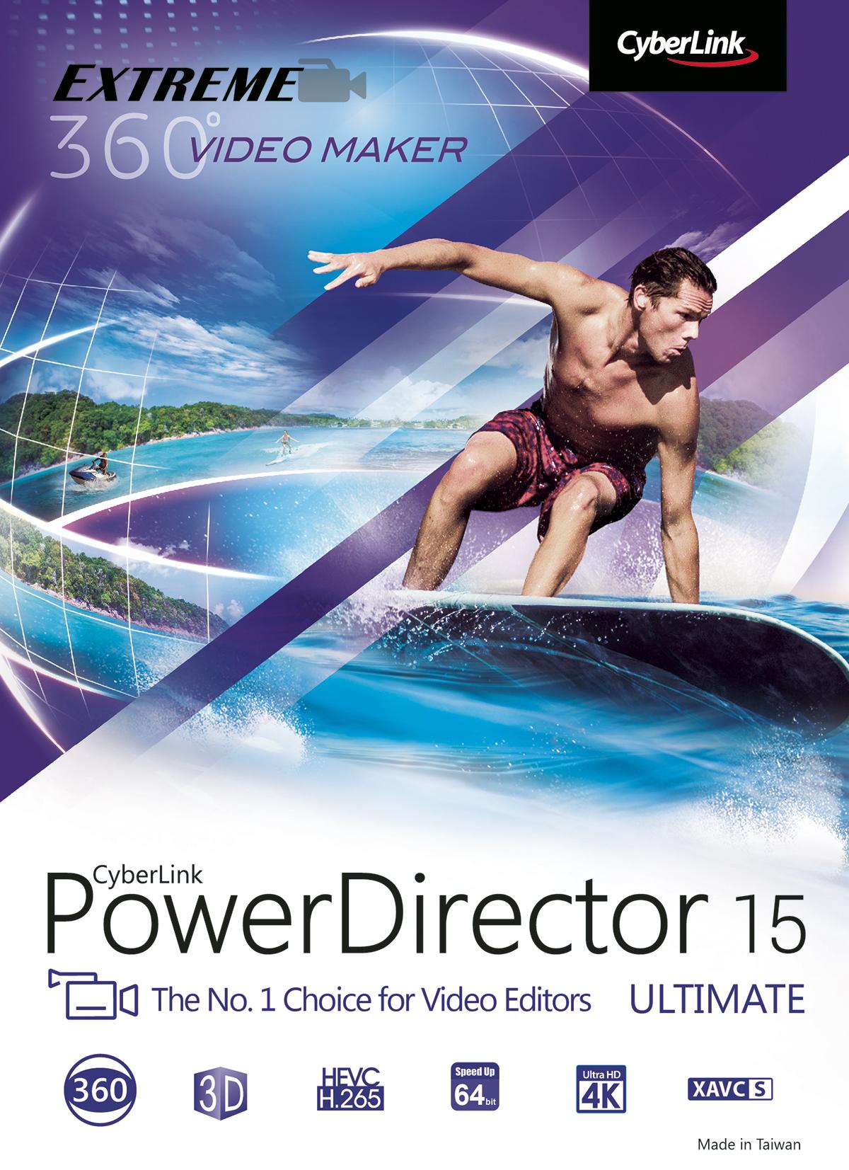 CyberLink PowerDirector 15 Ultimate [Download] ()