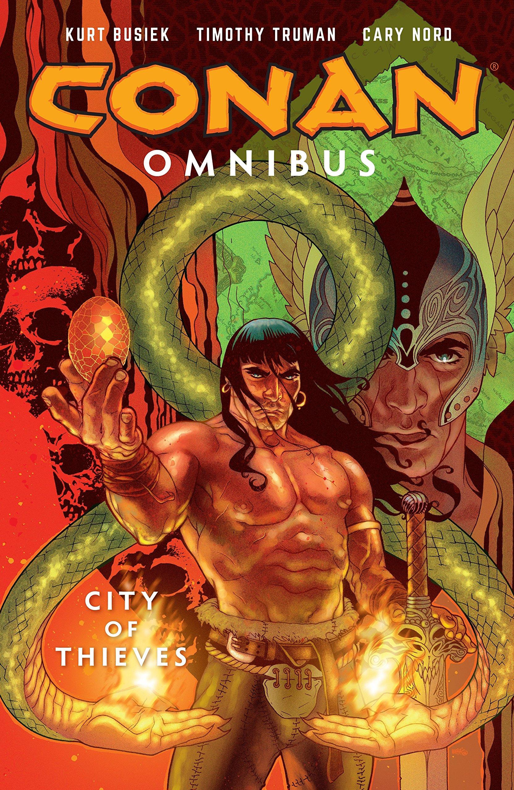 Conan Omnibus Volume 2: City of Thieves pdf epub