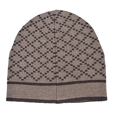 Amazon.com  Gucci Unisex Multi-Color 100% Wool Beanie Hat One Size ... 0da3a4504cc