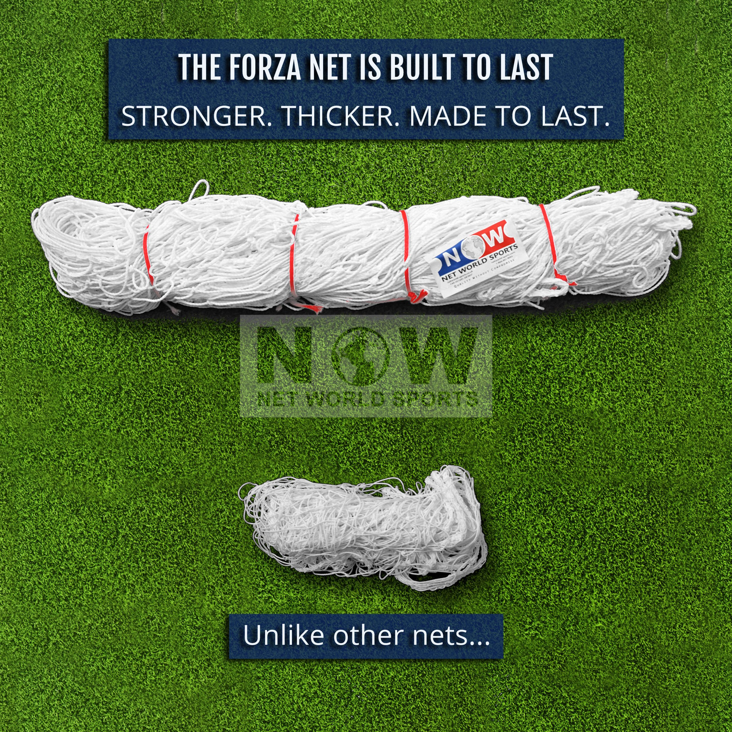 FORZA ''Match Standard'' 12' x 6' Professional Soccer Goal and Net - The Best Goal That Money Can Buy! (12 x 6 FORZA Goal & Carry Bag) by Net World Sports (Image #4)