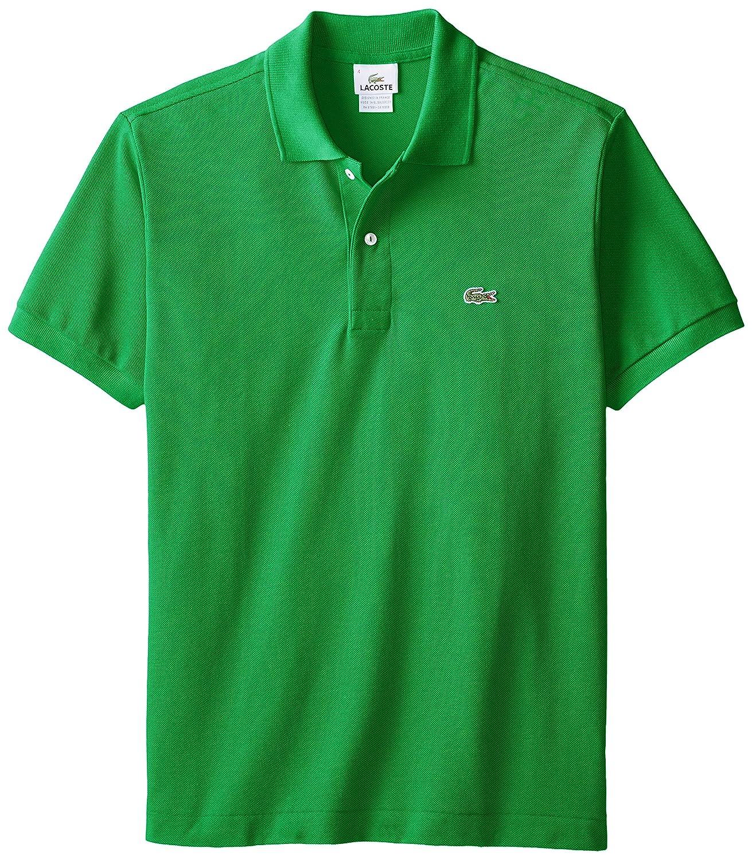 f8b29de6 Lacoste Men's Short Sleeve Pique L.12.12 Fit Polo Shirt, Chlorophyll ...