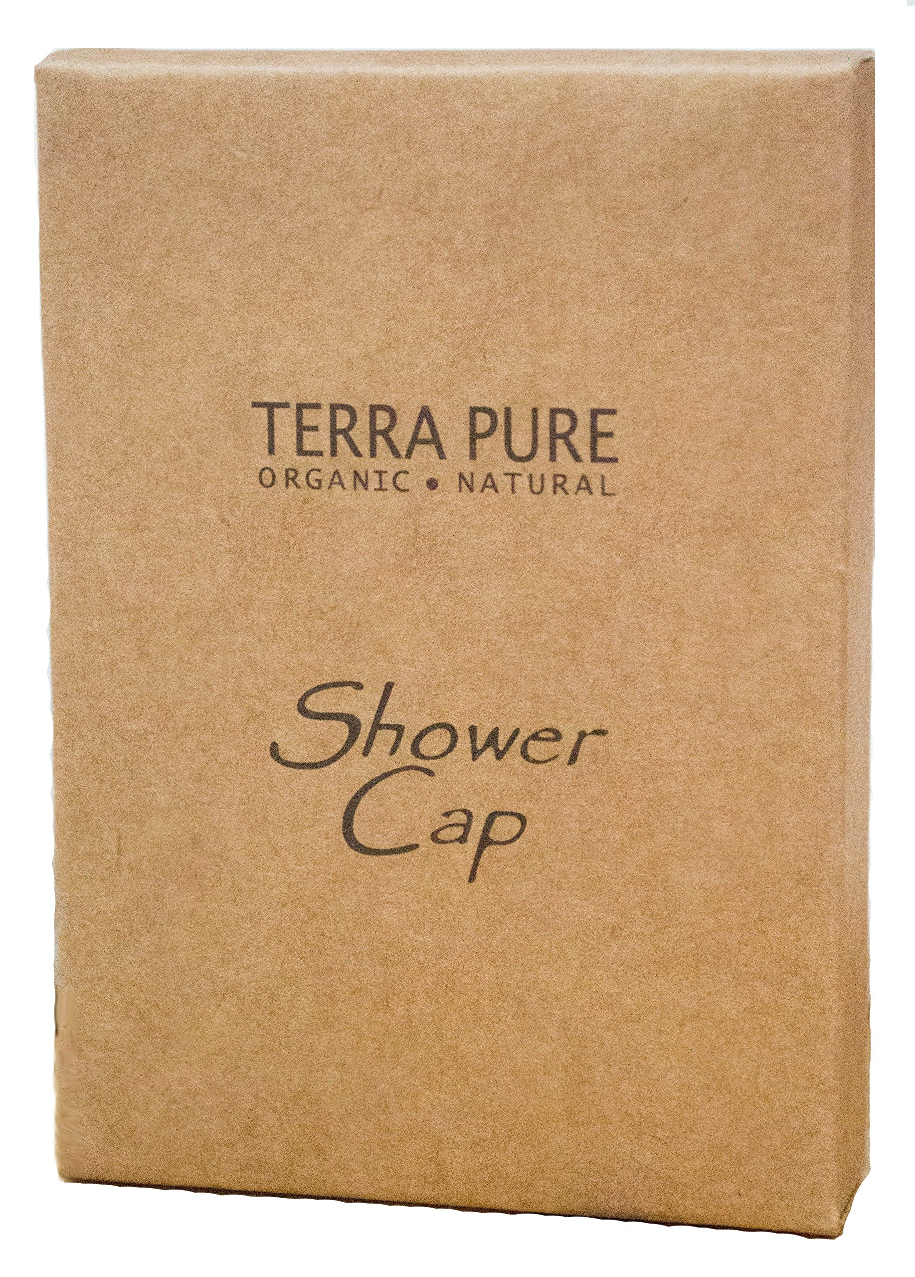 Terra Pure Green Tea Shower Cap Recycled Paper, Soy Ink Box (Case of 500) by Terra Pure