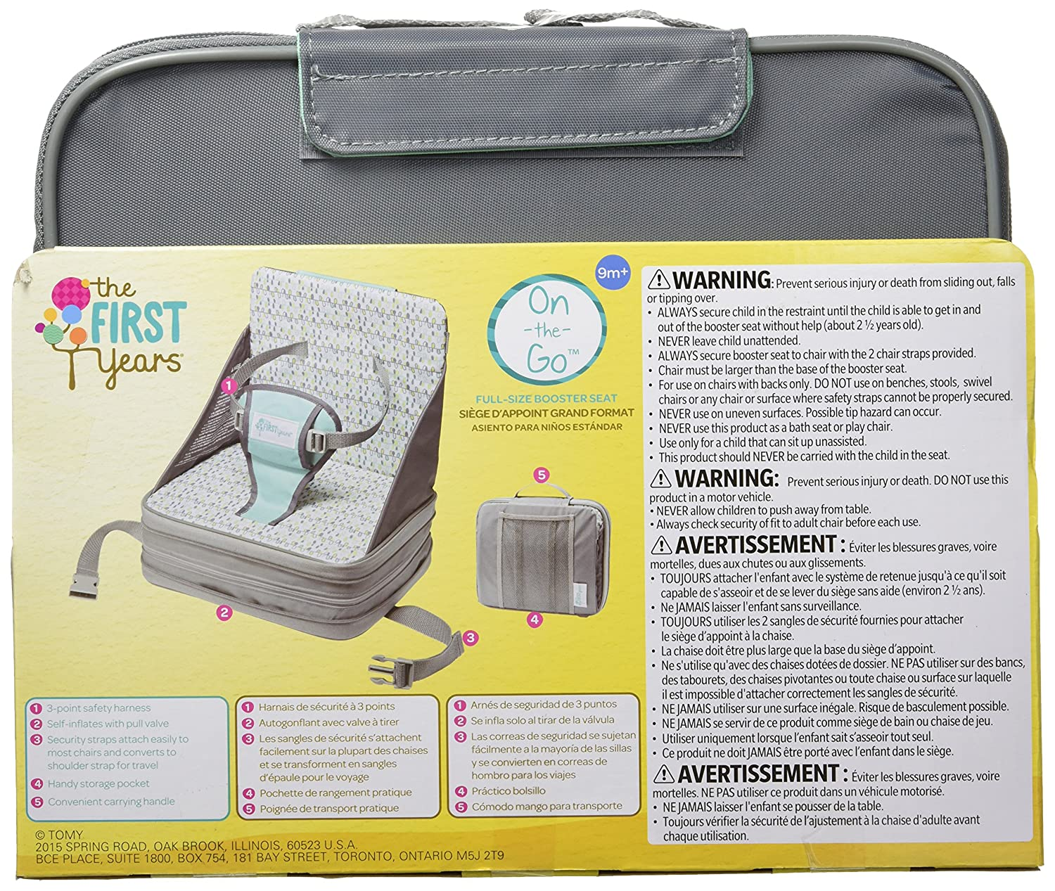 Amazon The First Years On Go Booster Seat Chair Seats Baby