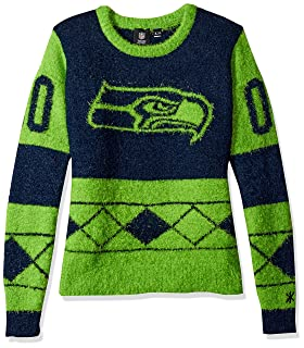 NFL Football 2015 Womens Eyelash Ugly Sweater - Pick Team Forever Collectibles