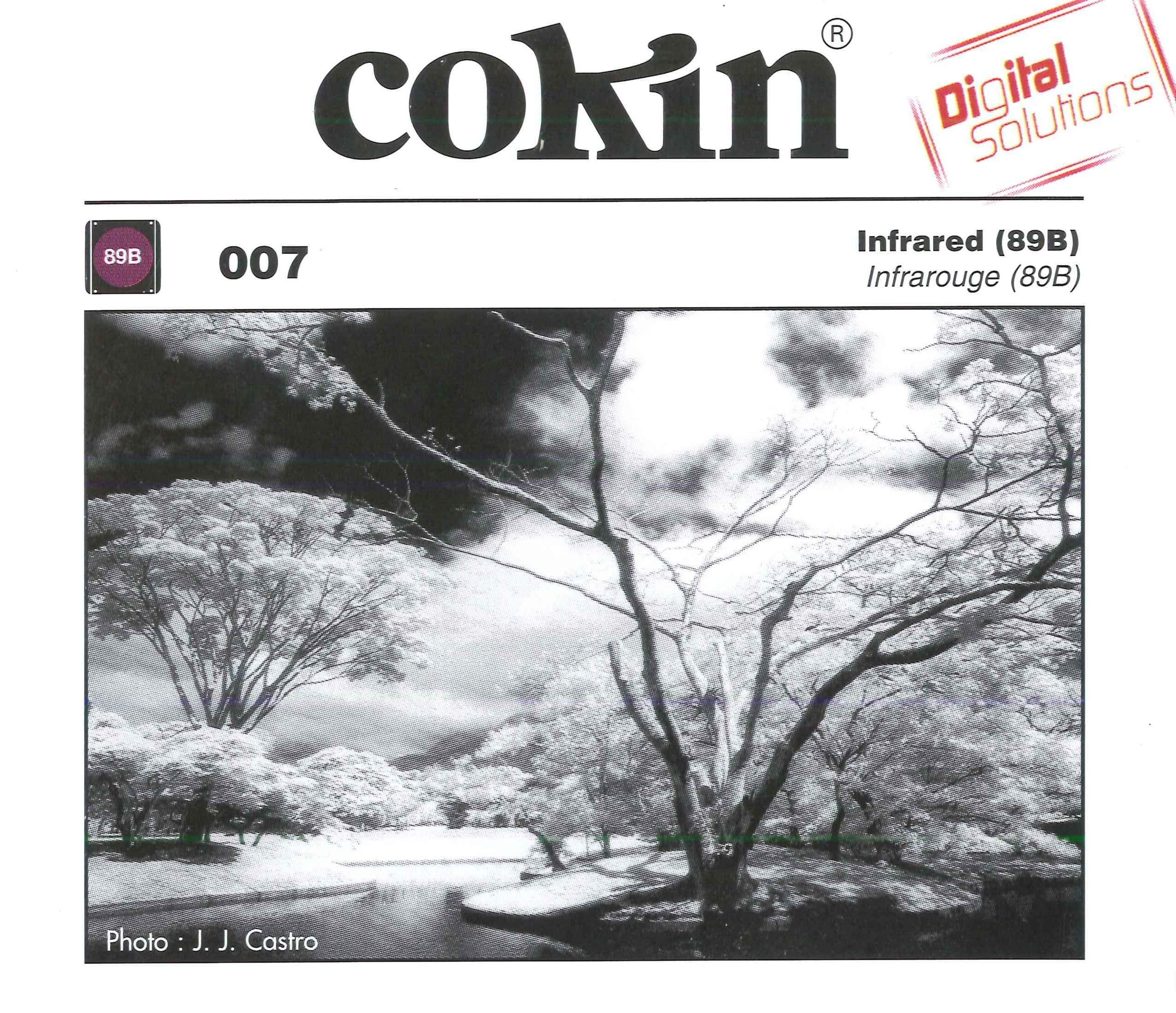 Cokin A007 Filter, A, Infrared (89B) by Cokin