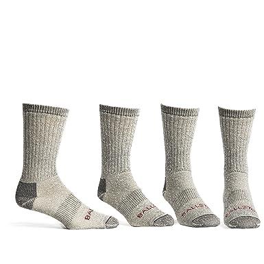 396ea4b79e Ballston Medium Weight 86% Merino Wool Socks for Winter & Outdoor Hiking  and Trekking- 4 Pairs for Men and Women at Amazon Men's Clothing store: