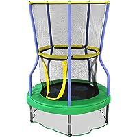 Skywalker - Minitrampolín con red de protección - trampolín para niños - Funciones de seguridad adicionales - Cumple o supera la ASTM - Hecho para durar - 101.60 cm, 121.92 cm, 152.40 cm, Verde, 40 - inch