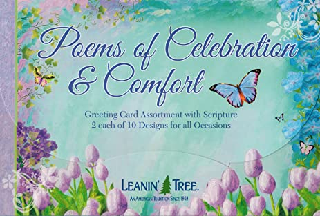 Amazon poems of celebration comfort all occasion greeting poems of celebration comfort all occasion greeting card assortment with scriptures boxed greeting cards m4hsunfo