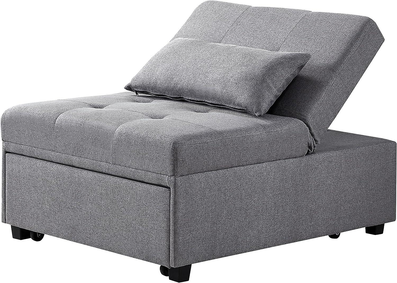 Powell Marnie Bed grey