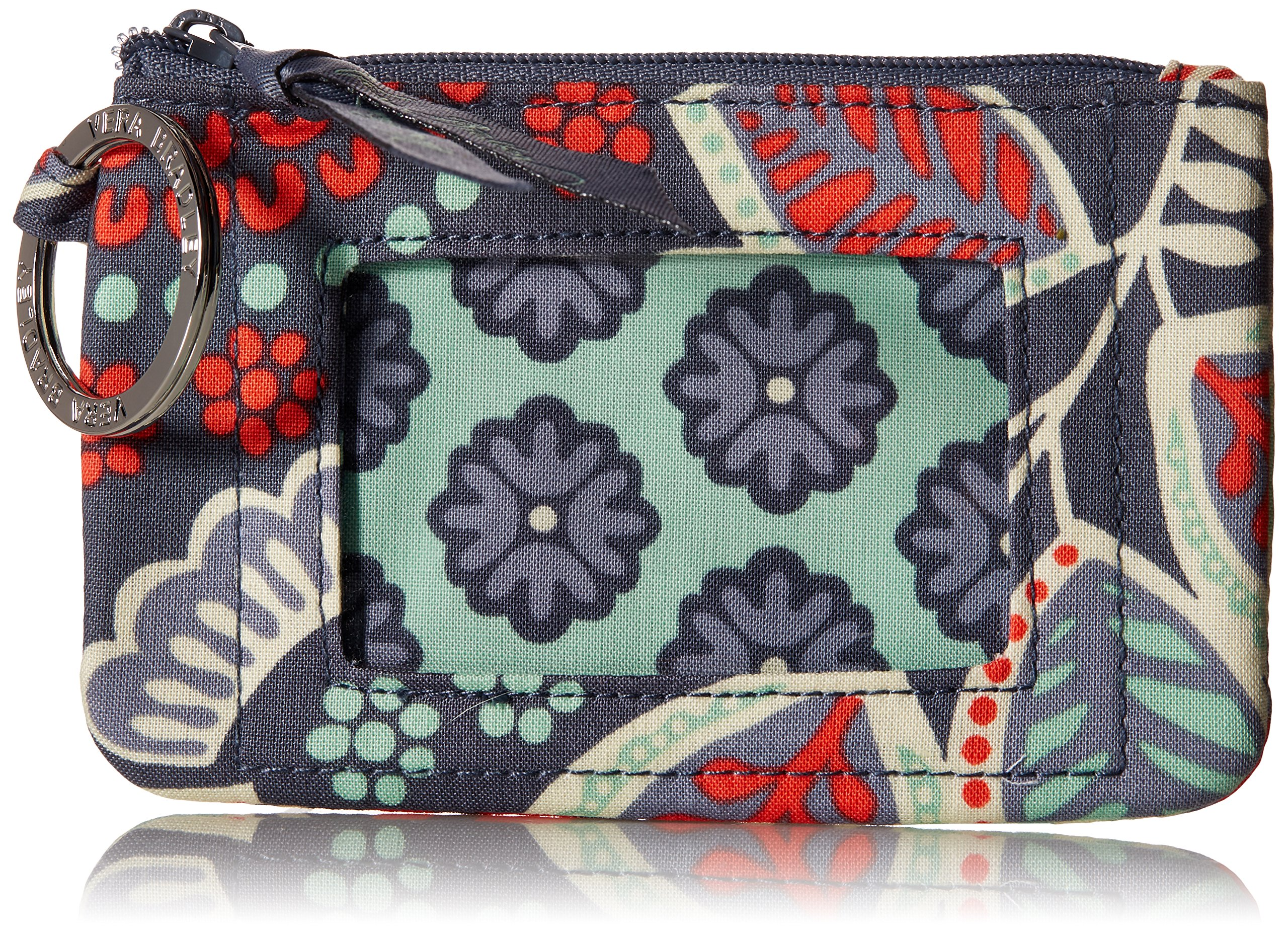 Vera Bradley womens Zip Id Case, Nomadic Floral, One size