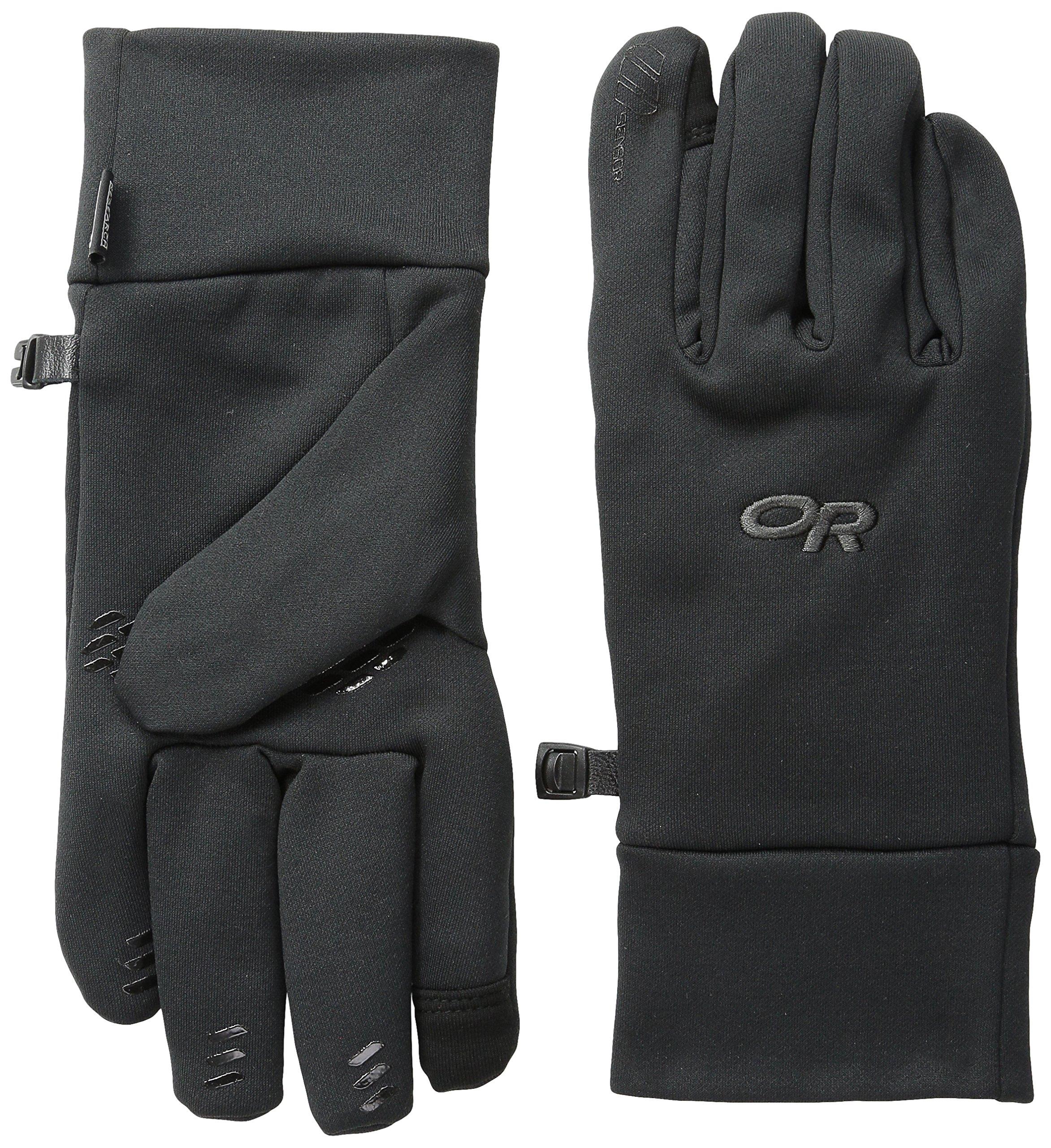 Outdoor Research Men's PL400 Sensor Gloves, Black, Large