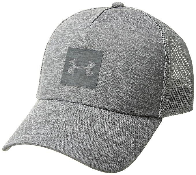 d7ceef6c Amazon.com: Under Armour Men's Closer Trucker 2.0 Cap, Graphite (040 ...
