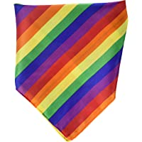 Beistle 60871 Rainbow Bandana, 22 by 22-Inch, Multicolored