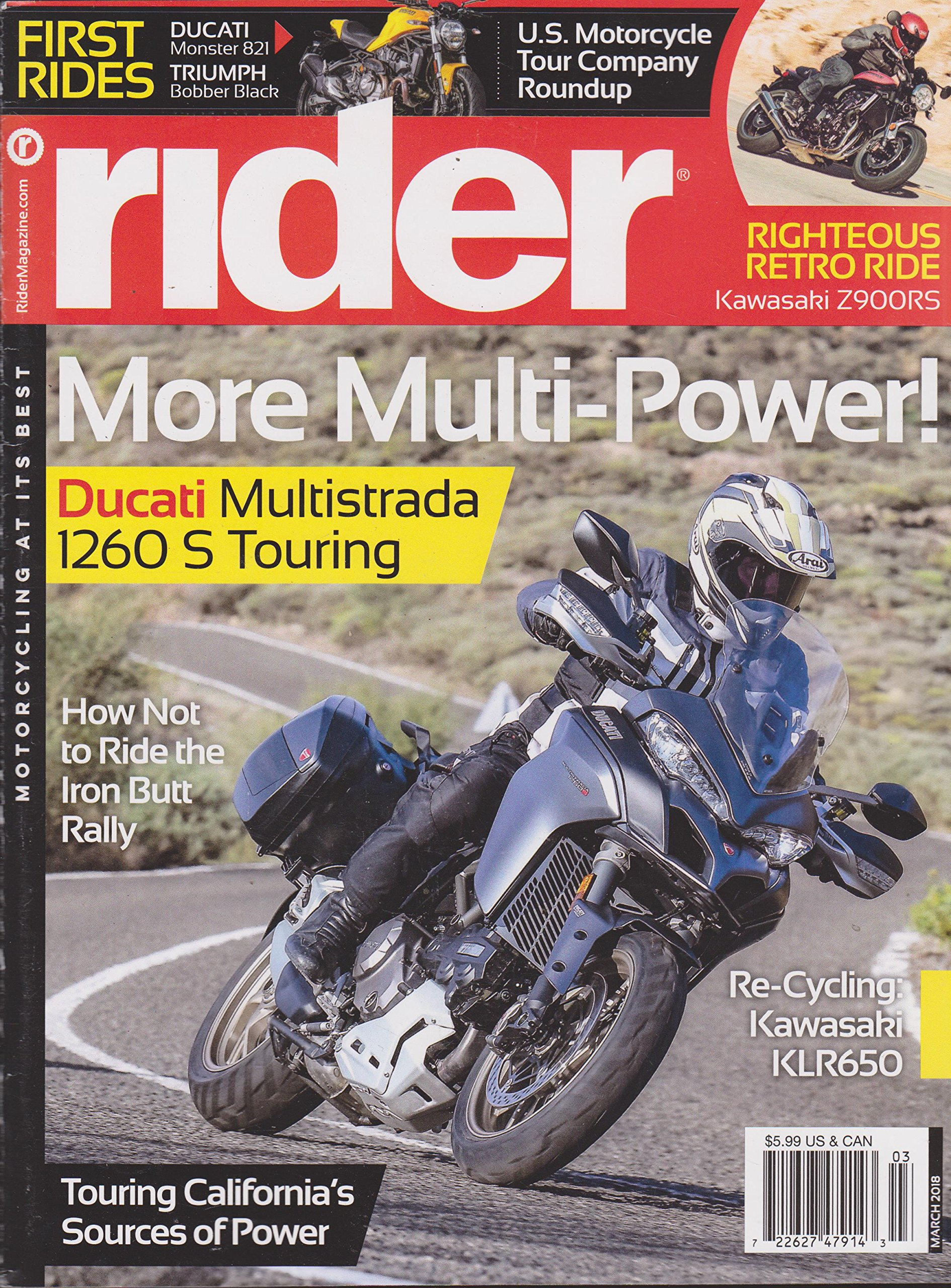 Download Rider Magazine March 2018 (No Mailing Label) PDF