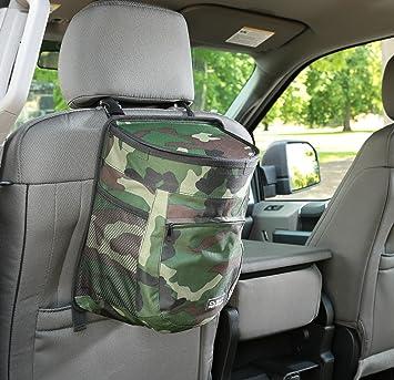 Desert Digital Camouflage EBL Wholesalers CRTB Clean Ridez Car Garbage Can w//Ez Flip Lid /& Leakproof Removable Liner Auto Trash Bag /& Car Cooler with Bottle Holders and Extra Storage Pocket 10