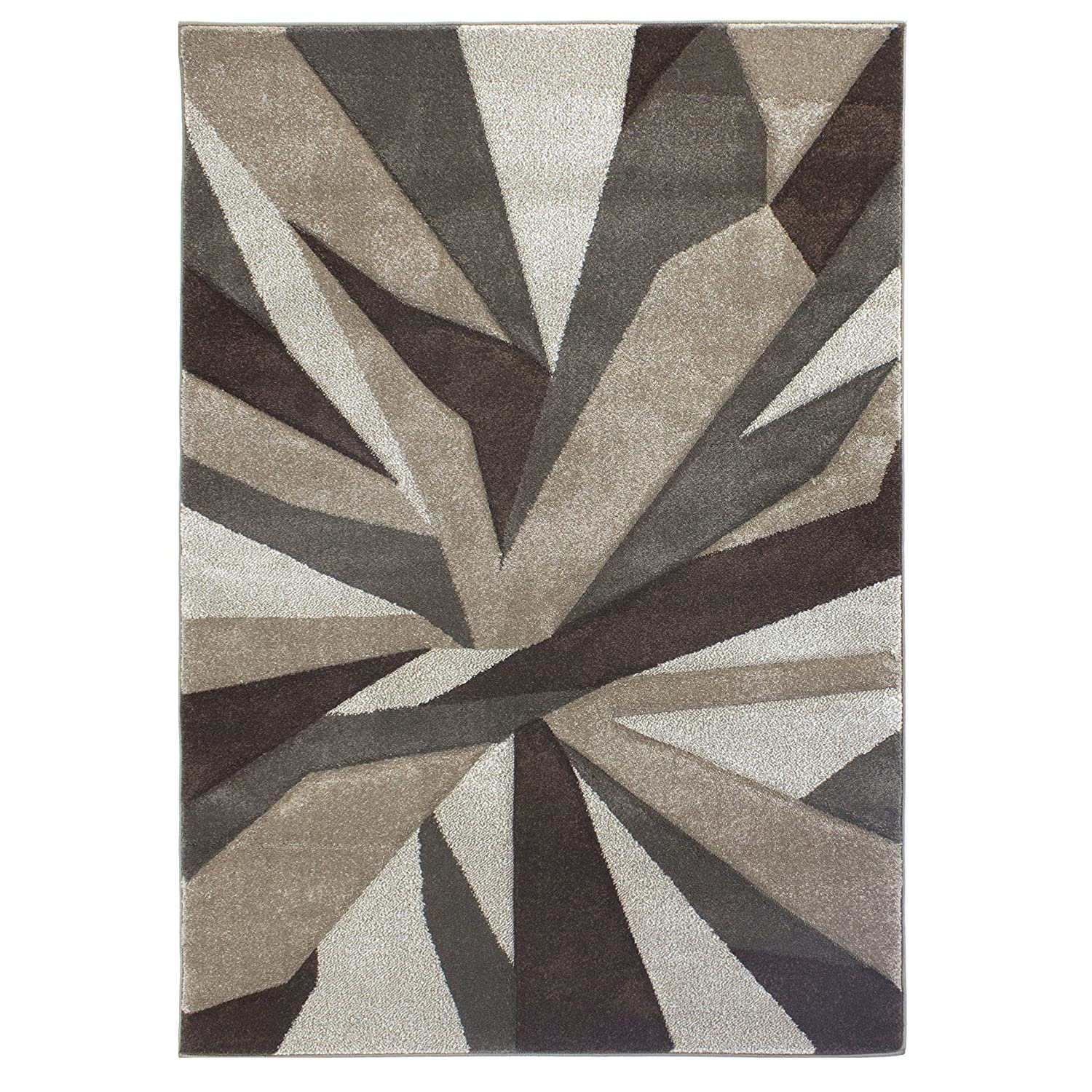 Flair Rugs Hand Carved Shatter Floor Rug