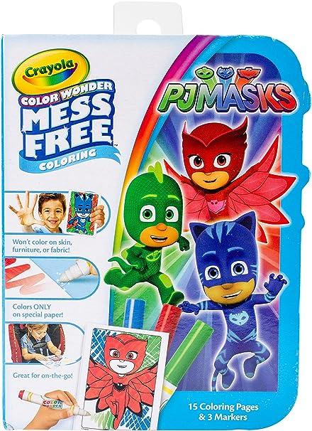 Crayola Color Wonder, No Mess, On The Go, PJ Masks