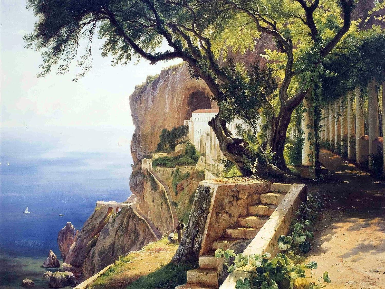Pergola en Amalfi de Carl Frederik Aagaard acento Mural de ...