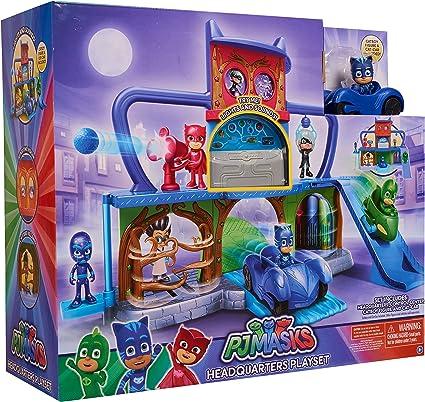 Amazon.com: PJ Masks - Set de juegos para la sede de la ...