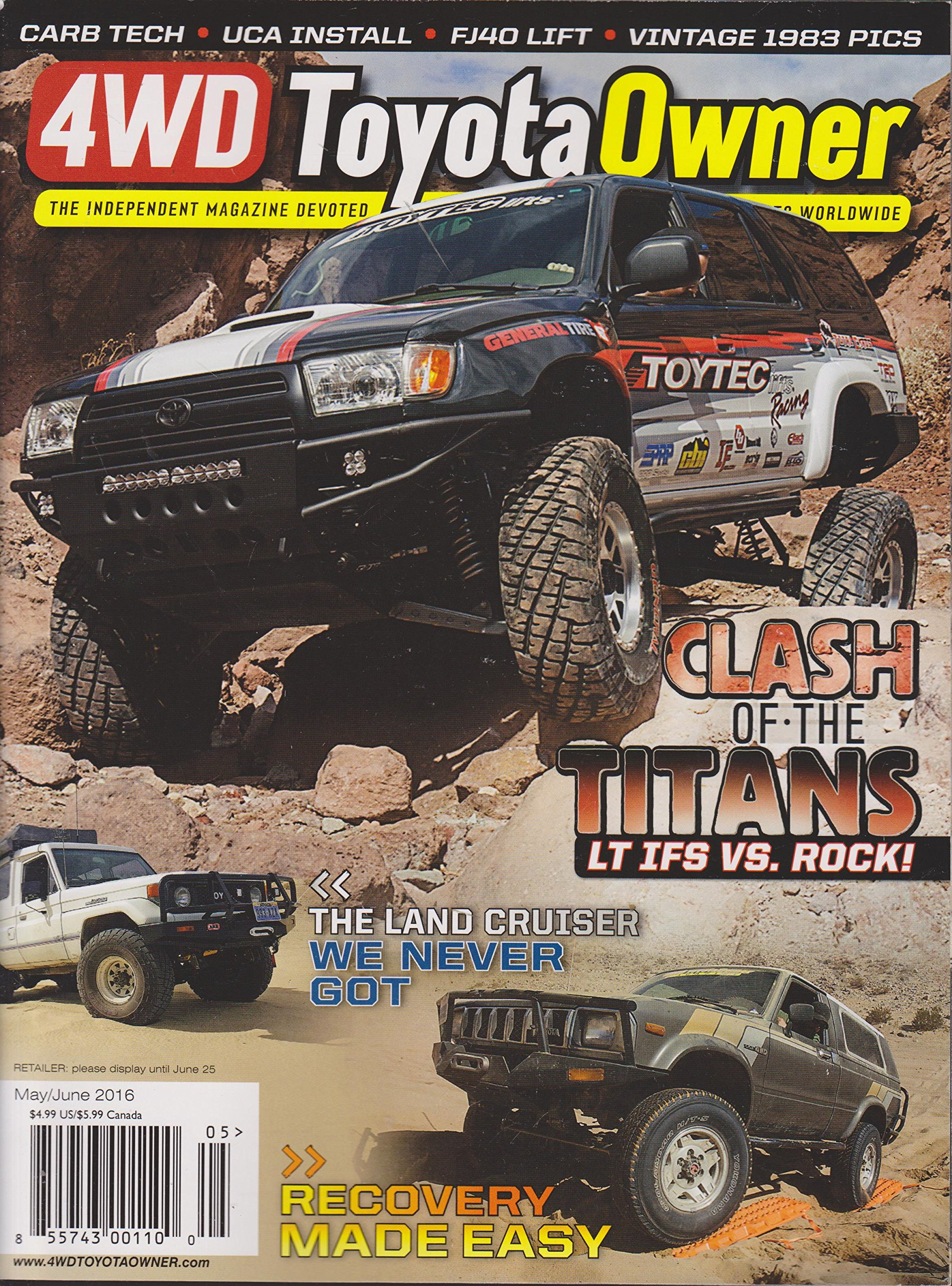 Read Online 4WD Toyota Owner Magazine May/June 2016 ebook