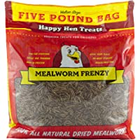 Happy Hen Treats Mealworm Frenzy Pet Treat (1 Pouch), 5 lb