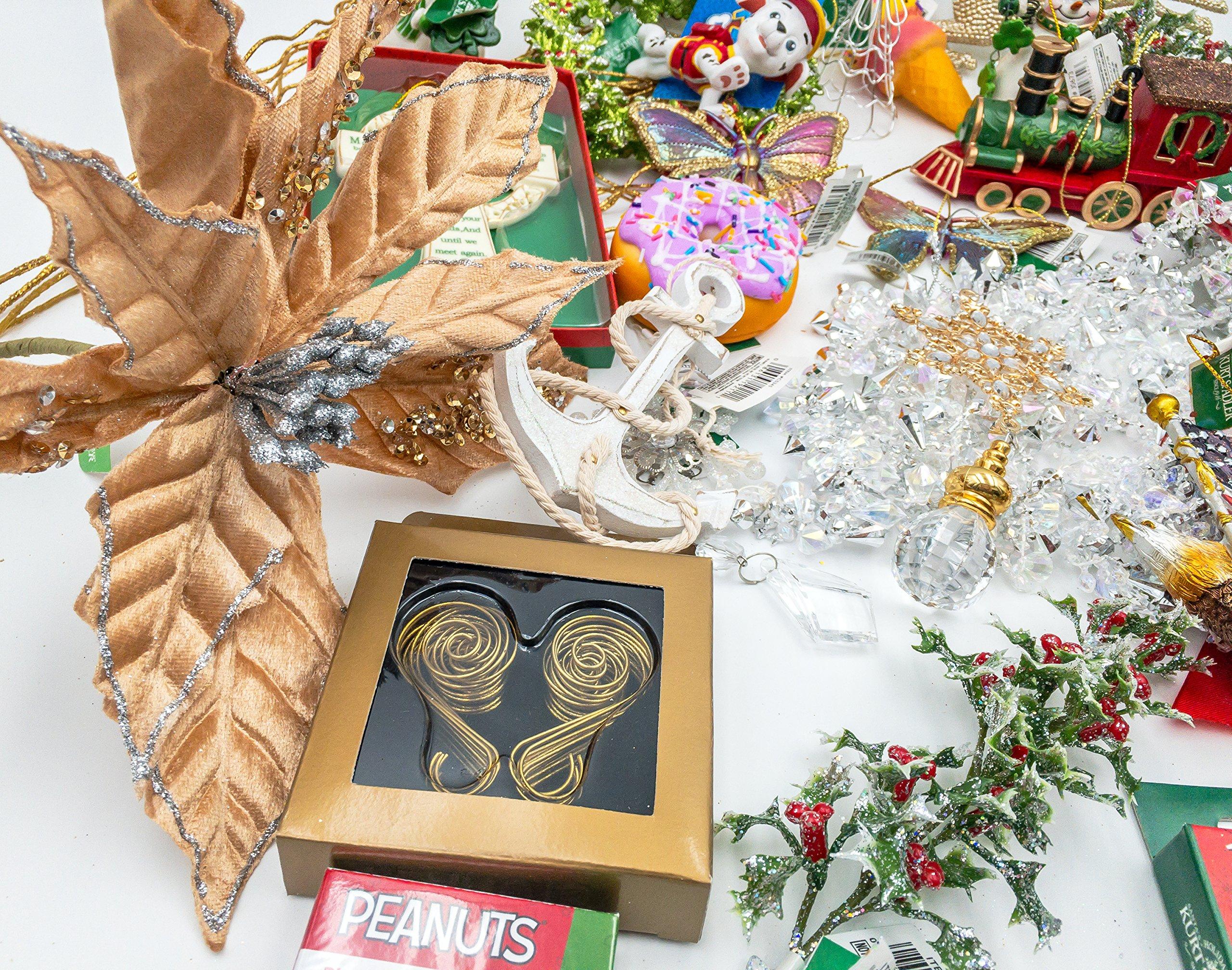 JZ Bundles Starter Set - Best of Christmas Option C - Kurt Adler - 37-Piece Bundle - A Bundle of Christmas Ornaments Great Gift by JZ Bundles (Image #8)