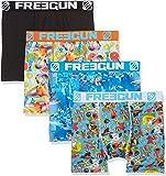Freegun X4, Boxer Homme, Multicolore, Large (Taille Fabricant:L) (lot de 4)
