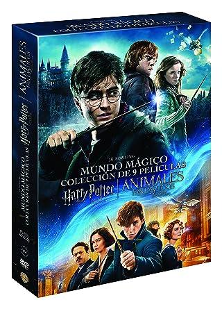 Pack Harry Potter (1-8) + Animales Fantásticos [DVD]: Amazon.es ...