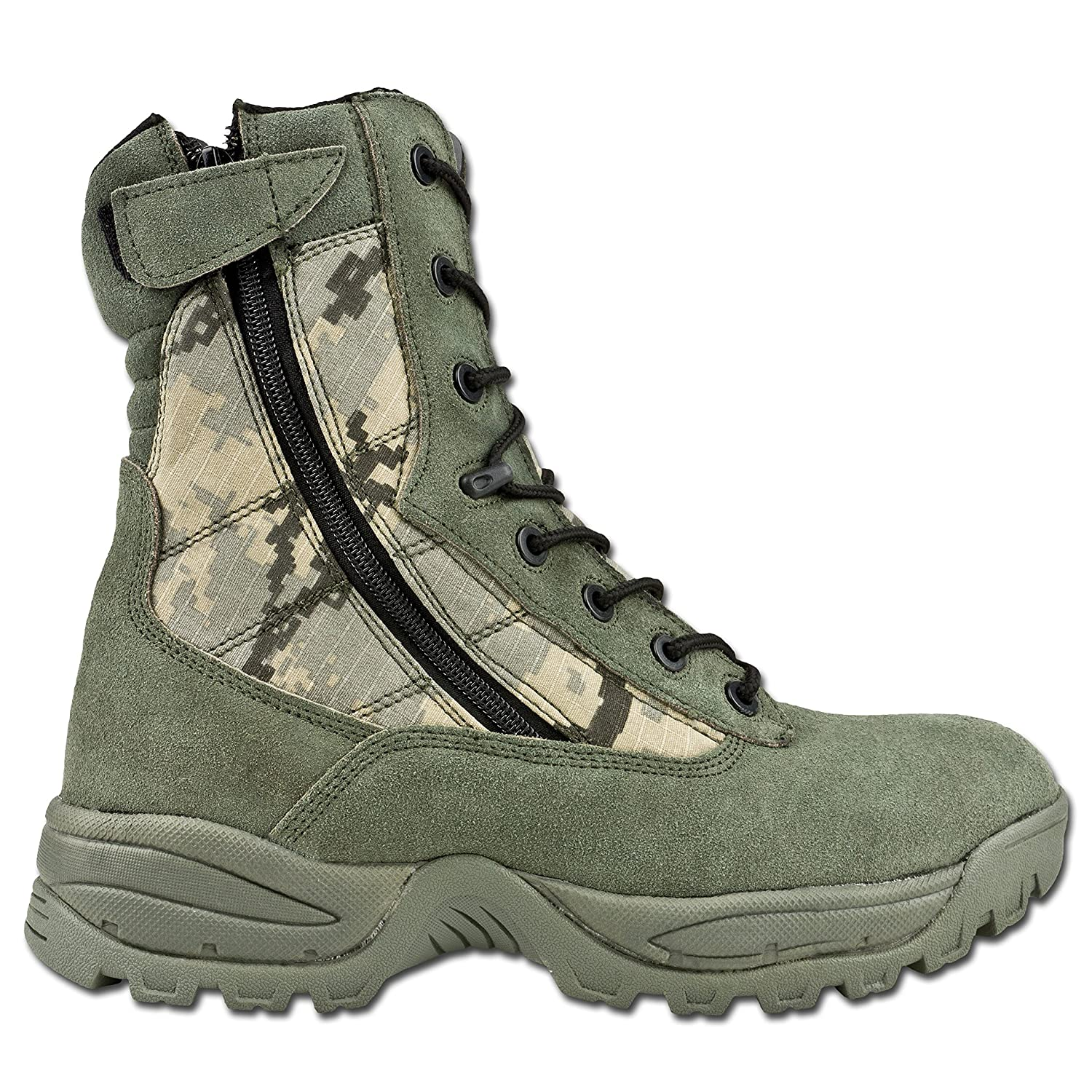 Mil-Tec Tactical Stiefel Two Zipper at-digital at-digital Zipper 749e73