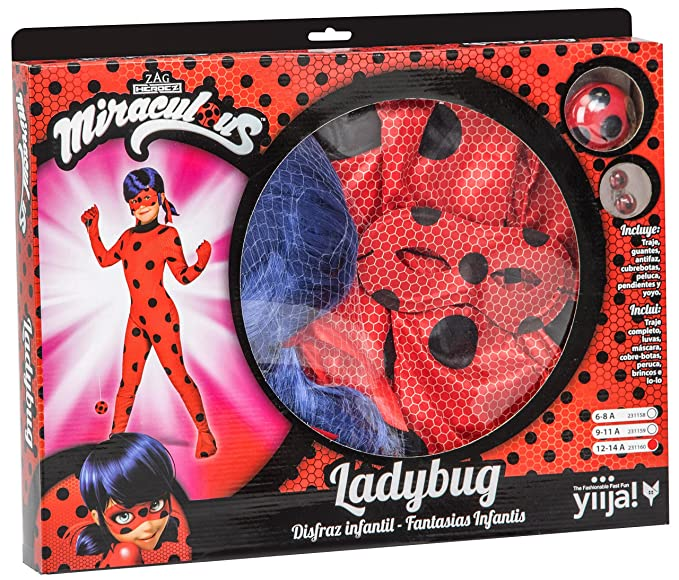 My Other Me Me Me- Miraculous Ladybug Lady Bug DISFRAZ Color rojo ...