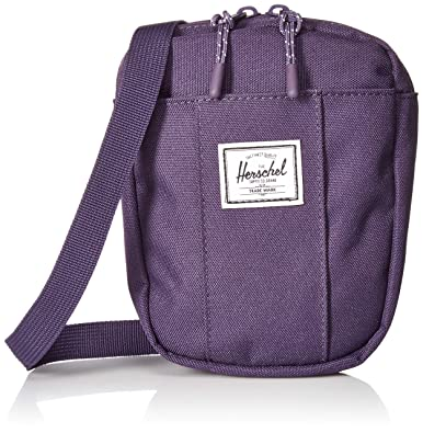 Herschel Cruz Cross Body Bag Purple Velvet One Size f07ba7061c502
