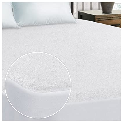 full size waterproof mattress pad Amazon.com: Superior 100% Waterproof Hypoallergenic Mattress  full size waterproof mattress pad
