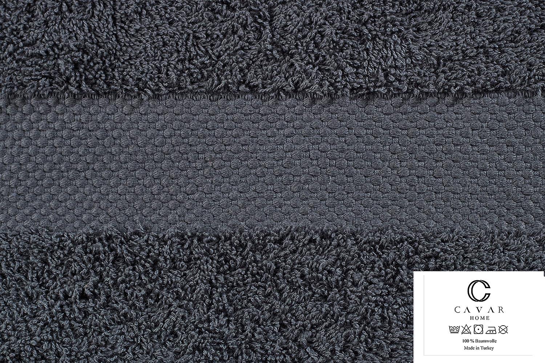 OEKO-TEX/® 100 Zertifikat CAVAR HOME - 100/% aus feiner Baumwolle Pink Handt/ücher 550 g//m/² Frottee Premium HANDTUCH 2er Set 50 x 100 cm