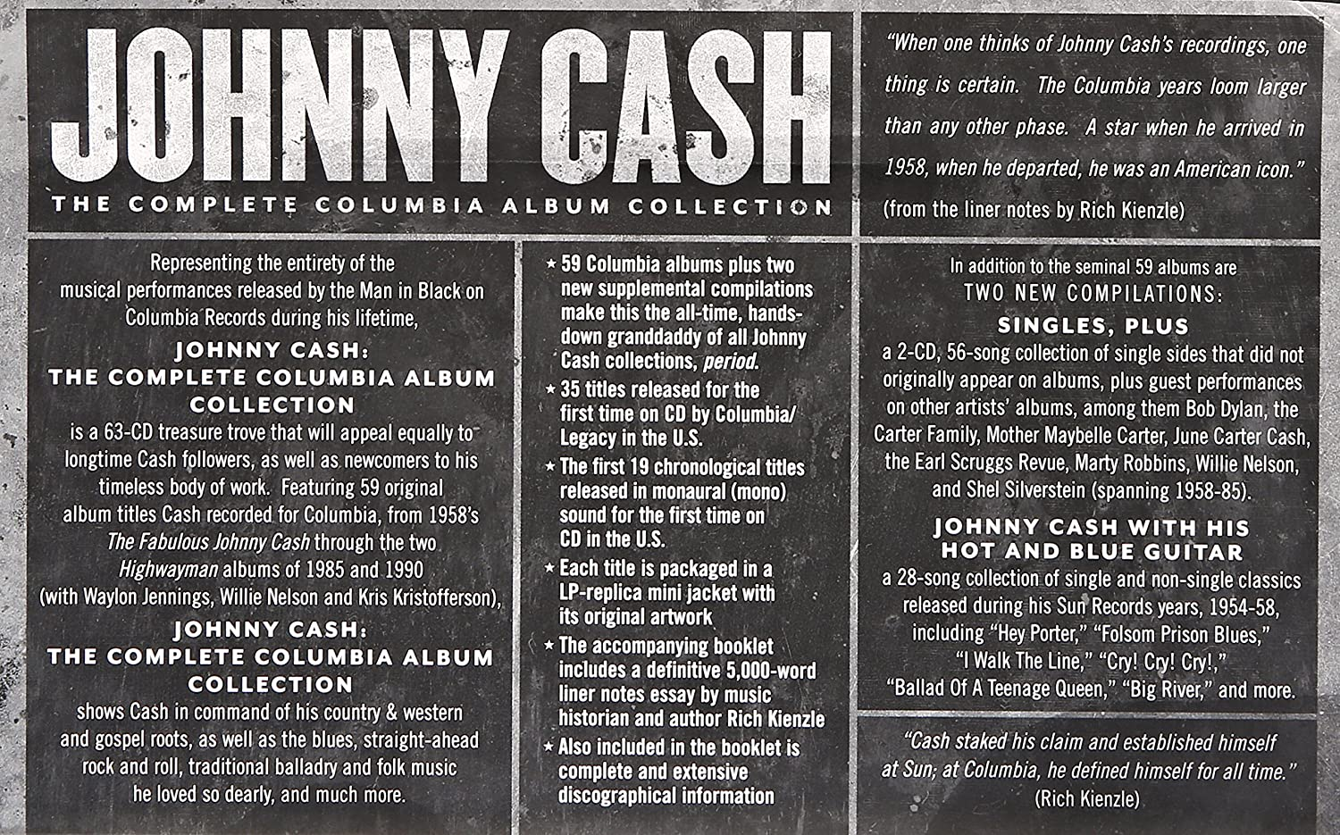 The Complete Columbia Album Collection - Johnny Cash: Amazon.de: Musik