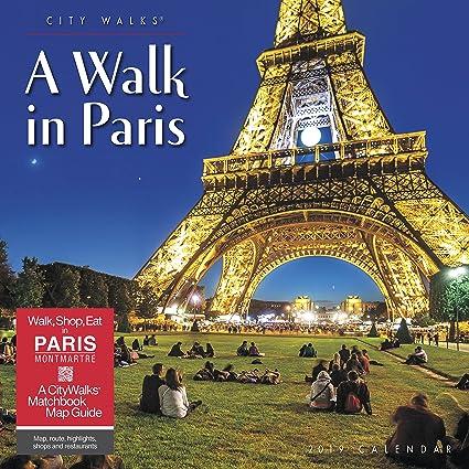 c94c43f687d4a Amazon.com   A Walk in Paris 2019 Wall Calendar   Office Products