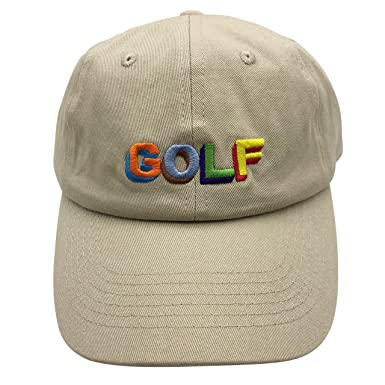 shengbin pzz Golf Wang Dad Hats Baseball Cap Embroidered Adjustable  Snapback Cotton Unisex Khaki d704f1604168