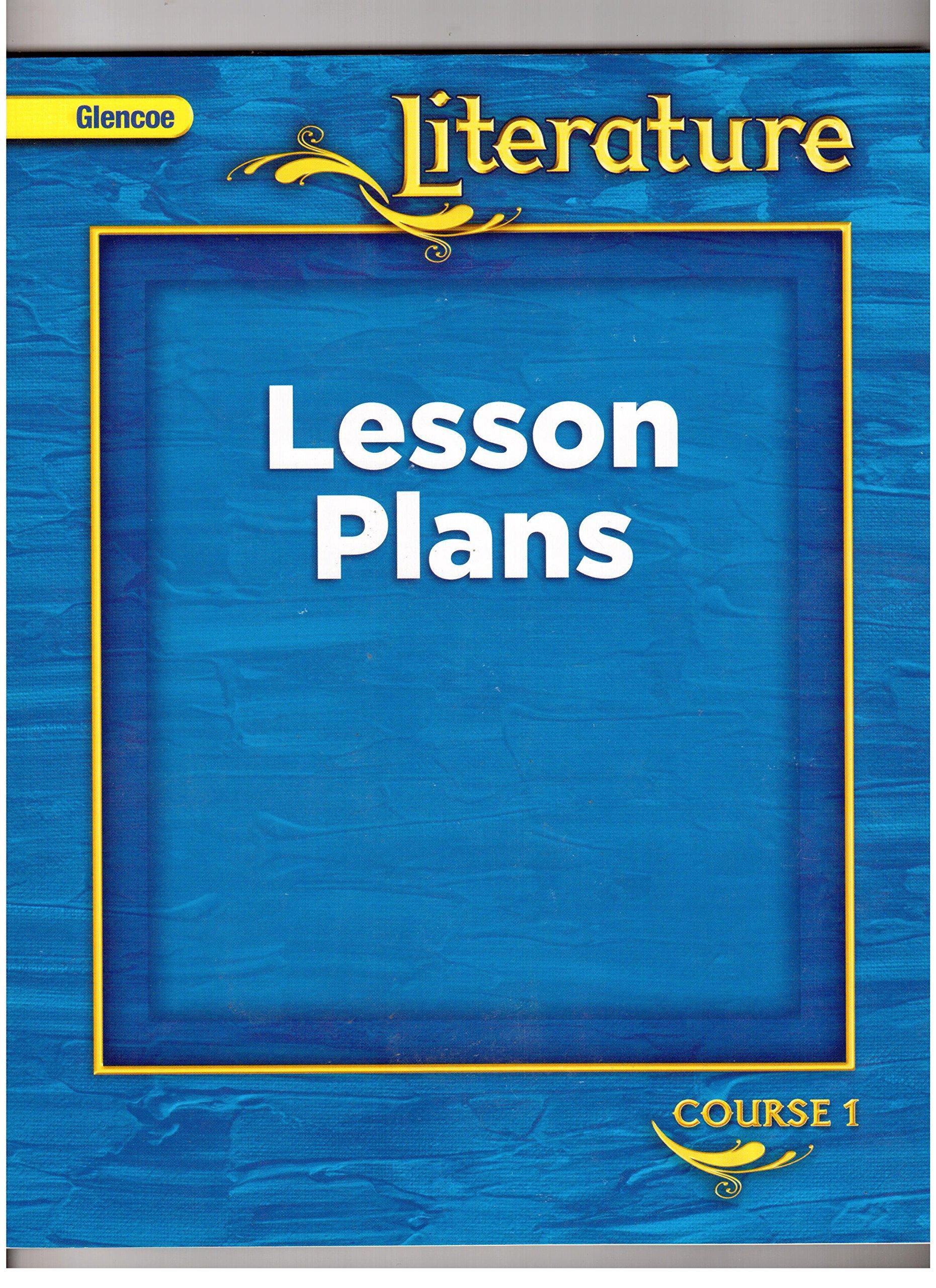 Glencoe Literature Course 1 Lesson Plans: Amazon com: Books