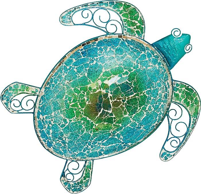 Regal Art & Gift 20272 Mosaic Sea Turtle Wall Decor 18