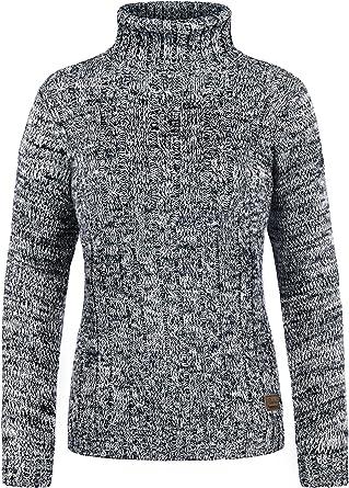 Desires Philipa Jersey De Cuello Alto Jersey De Punto Suéter Sudadera De Punto para Mujer con Cuello Alto Doblado De 100% algodón: Amazon.es: Ropa y accesorios