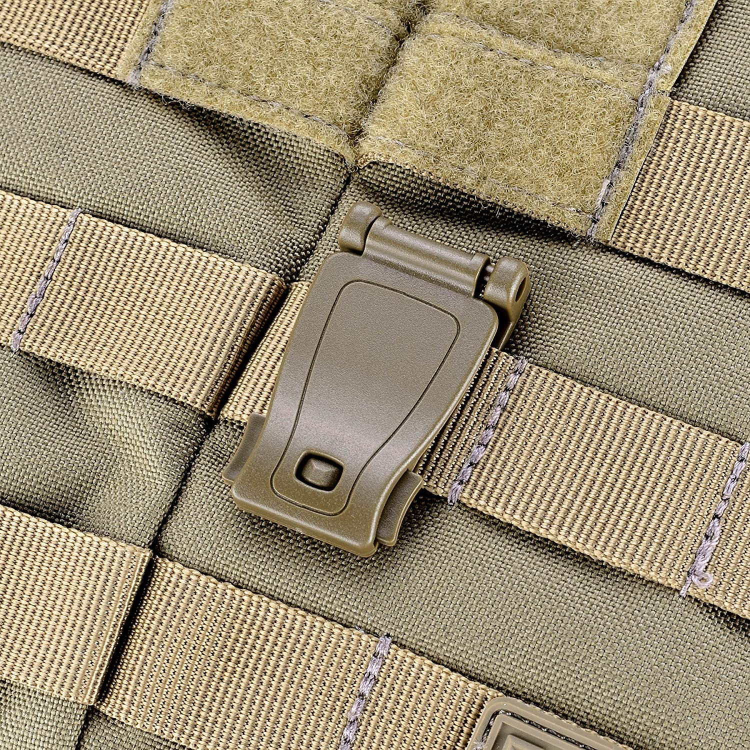 Backpack Boosteady Multipurpose MOLLE Clip Tactical Strap Management Tool Web Dominator Buckle for Tactical Bag