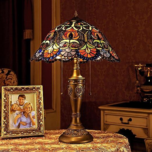 Amazon.com: Gweat Tiffany 16-Inch Europea Gorgeous manchado ...