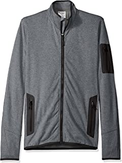 Champion Mens Men's Active Knit Jacket-Tall Sizes Warm Up or Track Jacket