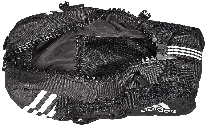 cf7226267a adidas Sac de Sport dans Une Fermeture éclair-up Noir Noir Noir/Blanc 55  cm: Amazon.fr: Bagages