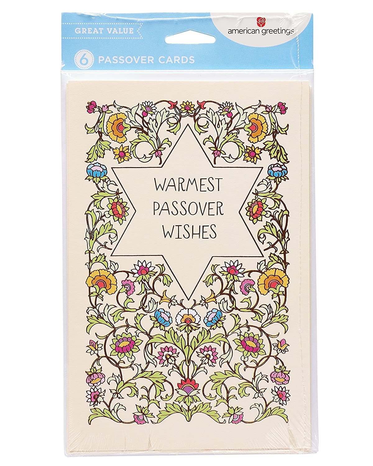 Amazon American Greetings Warmest Wishes Passover Card With