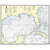 NOAA Chart 411: Gulf of Mexico