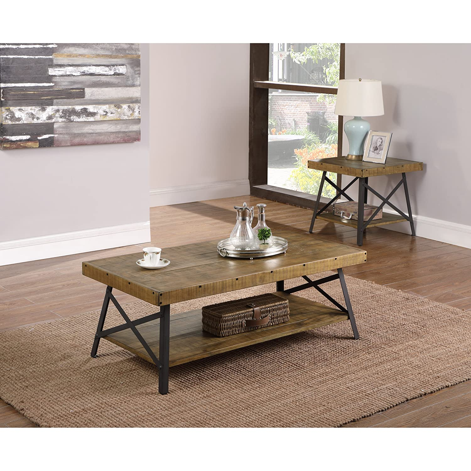 Amazon emerald home t100p 2 chandler sofa table natural amazon emerald home t100p 2 chandler sofa table natural kitchen dining geotapseo Image collections