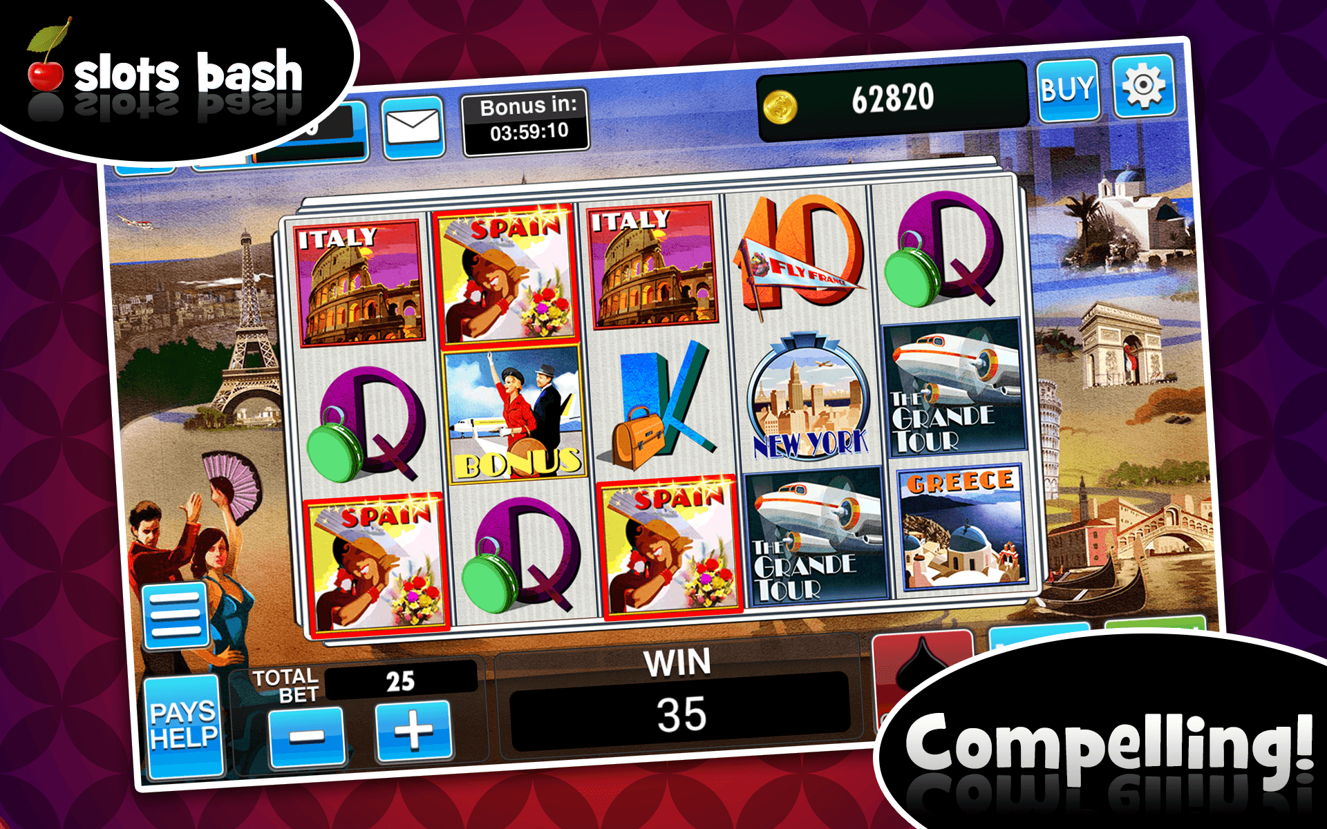 Slots bash free coins geant casino electromenager refrigerateur